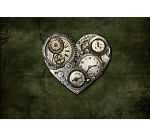 Heartstone Steampunk Photographic Print