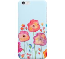 Taylor Swift Watercolor Flowers iPhone Case/Skin