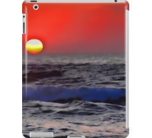 Morocco. Casablanca. Atlantic Ocean. Sunset. iPad Case/Skin