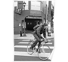 Alberta Rose Theater and Bike Poster