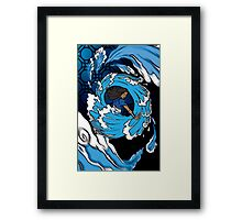 Shirt Two: Water Framed Print