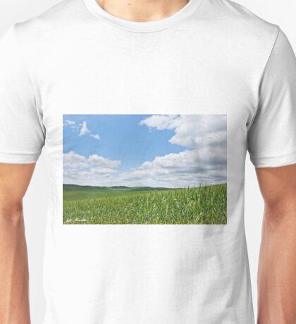 Rolling Wheatfields in the Palouse Unisex T-Shirt