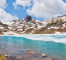 Upper Ice Lake and Surrounding Peaks Sticker