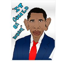 Obama Caricature Poster