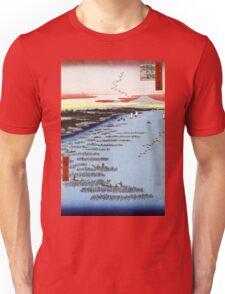 Hiroshige Minami-Shinagawa and Samezu Coast Unisex T-Shirt
