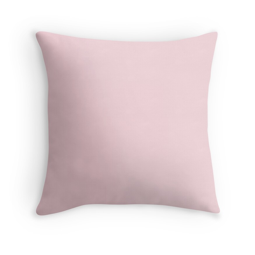 Blush Pink Decorative Pillow :