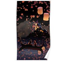 Floating Lanterns Poster