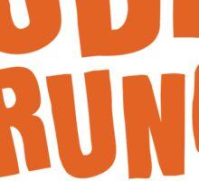 Dudes Brunch Logo Sticker
