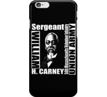 William Harvey Carney iPhone Case/Skin