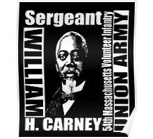 William Harvey Carney Poster