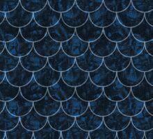 Starry Night Mermaid Scales Sticker