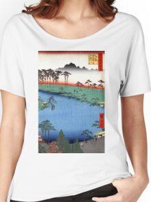 Hiroshige Kumanojūnisha Shrine Women's Relaxed Fit T-Shirt