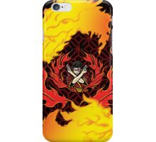 Shirt Four: Fire iPhone Case/Skin