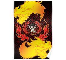 Shirt Four: Fire Poster