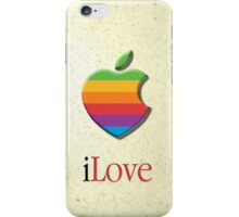 iLove 3D (for light shirts) iPhone Case/Skin