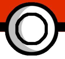 Basic Pokeball Sticker Sticker