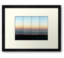Mist Rolling In Framed Print