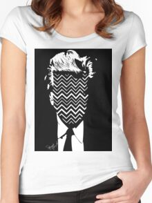 Lynch. Women's Fitted Scoop T-Shirt
