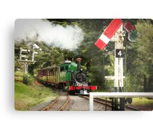 Approaching Menzies Creek Station Metal Print