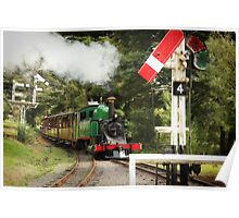 Approaching Menzies Creek Station Poster