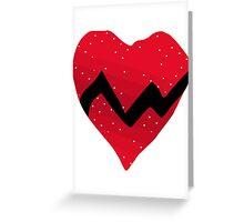Kanye West 808s & Heartbreaks Heart Greeting Card