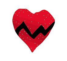 Kanye West 808s & Heartbreaks Heart Photographic Print