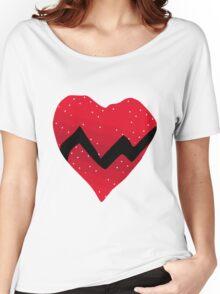 Kanye West 808s & Heartbreaks Heart Women's Relaxed Fit T-Shirt