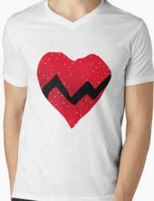 Kanye West 808s & Heartbreaks Heart Mens V-Neck T-Shirt