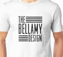 Bellamy Design Co Shirt (Black Text) Unisex T-Shirt
