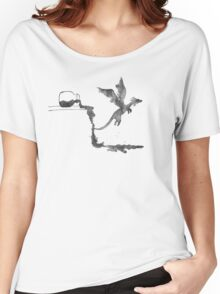 Spilled Ink Dragon Women's Relaxed Fit T-Shirt