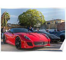 599 GTO Poster