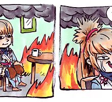 TAKUMI: THIS IS FINE by ravefirell
