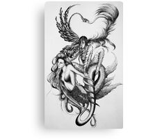 Deference to Possession  Canvas Print