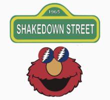 Shakedown on Sesame Street Kids Tee
