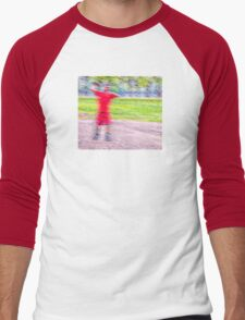 Sandlot Football Men's Baseball ¾ T-Shirt
