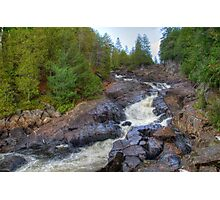 Raging water Photographic Print