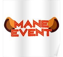 Mane Event Poster