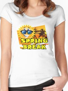 Spring Break 1 Women's Fitted Scoop T-Shirt
