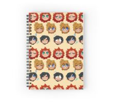 Sea Salt Trio Spiral Notebook