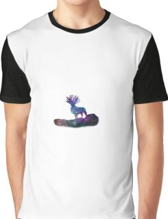 Forest Spirit Princess Mononoke Galaxy Graphic T-Shirt