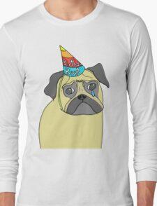 Pug Birthday Long Sleeve T-Shirt