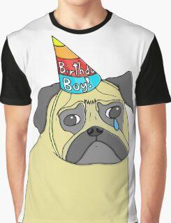 Pug Birthday Graphic T-Shirt
