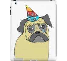 Pug Birthday iPad Case/Skin