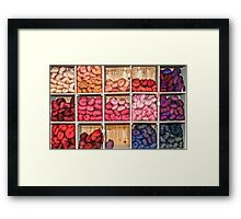 Yarn Framed Print