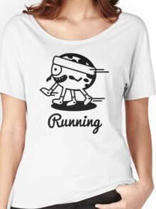 Sports Running Funny Men's Tshirt Women's Relaxed Fit T-Shirt