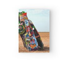 Cadillac Ranch Hardcover Journal