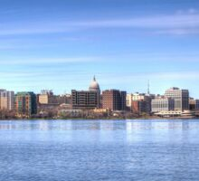Madison on Lake Monona Sticker