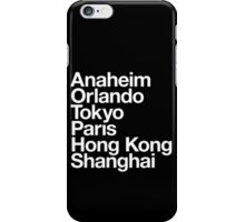 6 Magical Cities iPhone Case/Skin