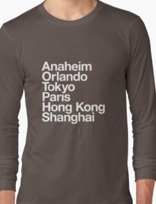 6 Magical Cities Long Sleeve T-Shirt