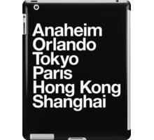 6 Magical Cities iPad Case/Skin